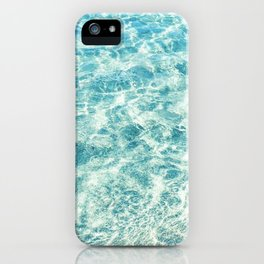 Crystal Clear Aqua Blue Ocean Water - iPhone Case