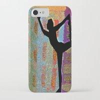 yoga iPhone & iPod Cases featuring Yoga by Vicki Lynn Rae