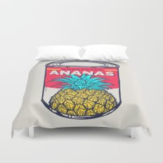 Condensed ananas Duvet Cover