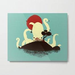 Octopus's Garden Metal Print