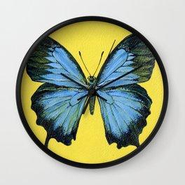 Butterfly. Wall Clock