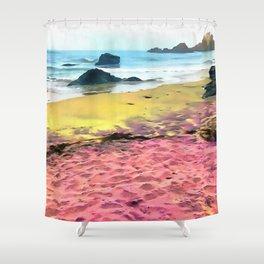 Mermaid Beach Shower Curtain