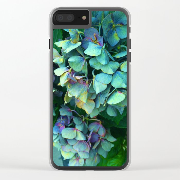 Treasure of Nature VII Clear iPhone Case