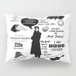 Sherlock Holmes Quotes Pillow Sham