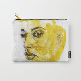 Portrait of Hailey Carry-All Pouch