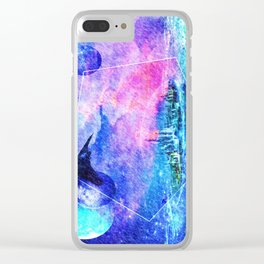 Ancient city Clear iPhone Case