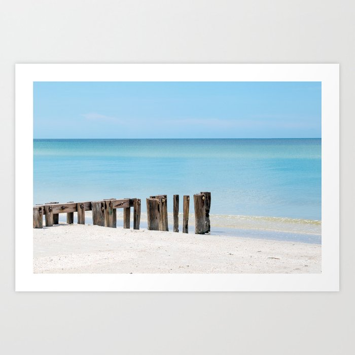 Leading to the Water Art Print
