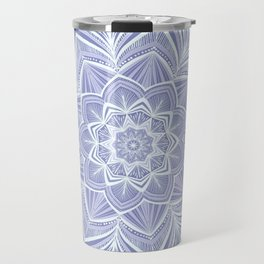 Violet Bloom Crown Chakra Travel Mug