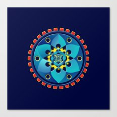 Abstract mechanical object Canvas Print