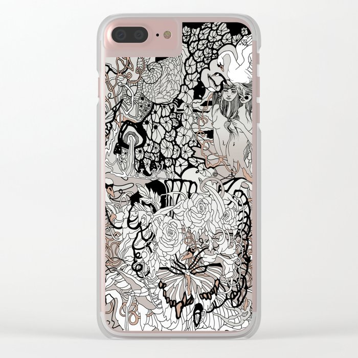 Next of Kin Clear iPhone Case