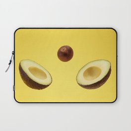 Split avocado Laptop Sleeve