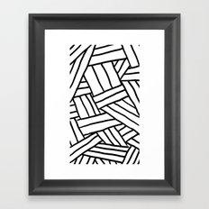 Raw Pattern Series: n.1 Framed Art Print