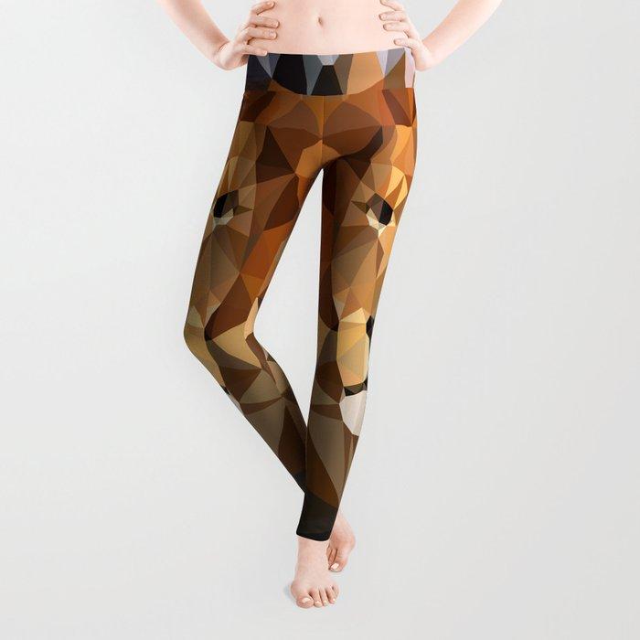 Lion Techy Art Leggings