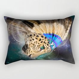 Fight For What You Love (Chief of Dreams: Leopard) Tribe Series Rectangular Pillow