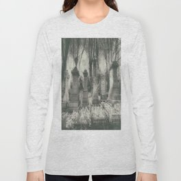 Highgate Cemetery London Long Sleeve T-shirt