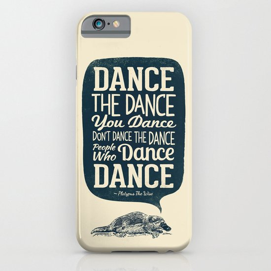 Platypus The Wise iPhone & iPod Case