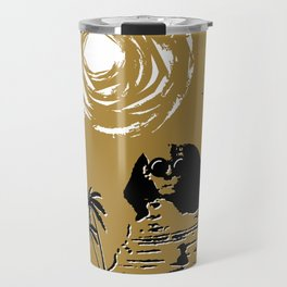 Sunshine Sentinel (Gold) Travel Mug