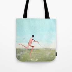 spaziergang mit ego Tote Bag