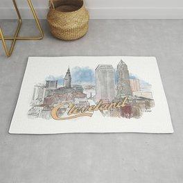 Cleveland, Ohio Rug