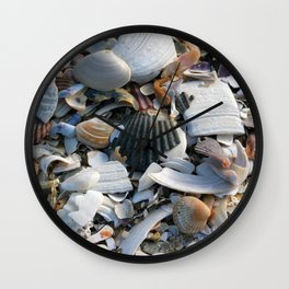 Shell Menagerie Wall Clock