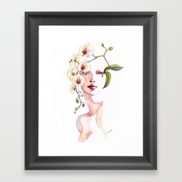The Orchid Framed Art Print