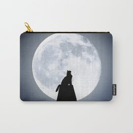 Cat by Day, Vigilante by Night Carry-All Pouch