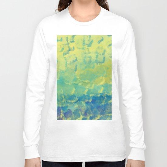 Watercolor Splash #1 #art #society6 Long Sleeve T-shirt