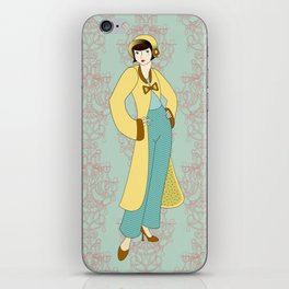 Flapper ready for the new Roaring Twenties! (5) iPhone Skin
