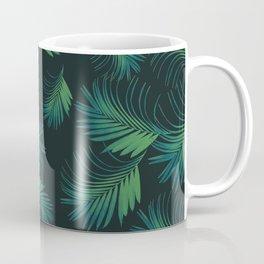 Tropical Night Palms Pattern #1 #tropical #decor #art #society6 Coffee Mug