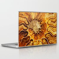 minerals Laptop & iPad Skins featuring AMAZING AMMONITE by Catspaws