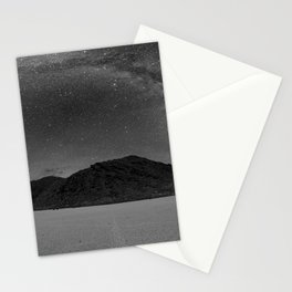 Milky Way at Racetrack Playa in Death Valley, California Stationery Cards