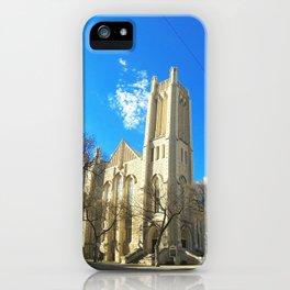 Knox United Church in Winnipeg iPhone Case