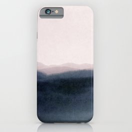 dusk scenery iPhone Case