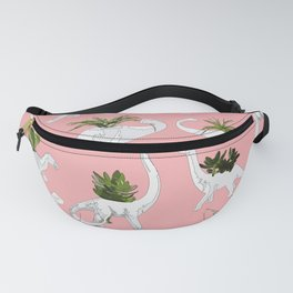 Dinosaurs & Succulents Fanny Pack
