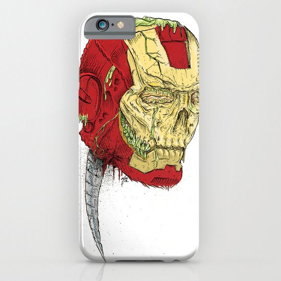 The Death of Iron Man iPhone & iPod Case