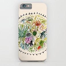 Succulents Mandala Slim Case iPhone 6