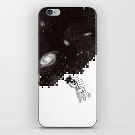 SOLVING THE BIG PUZZLE iPhone Skin