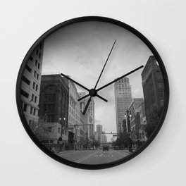 Grand River Drive Wall Clock