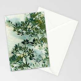 Wallpaper Foliage Stationery Cards