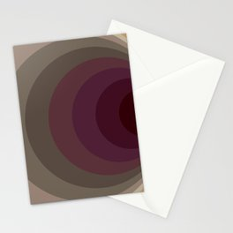 Geometric No. 35 night island 2 Stationery Cards