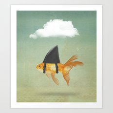 Brilliant DISGUISE - UNDER A CLOUD Art Print