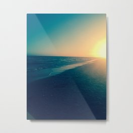 The calm on Sanibel Metal Print