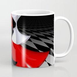 polynomails on harlekin - patterned plane Coffee Mug