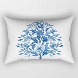 Flower Tree Rectangular Pillow