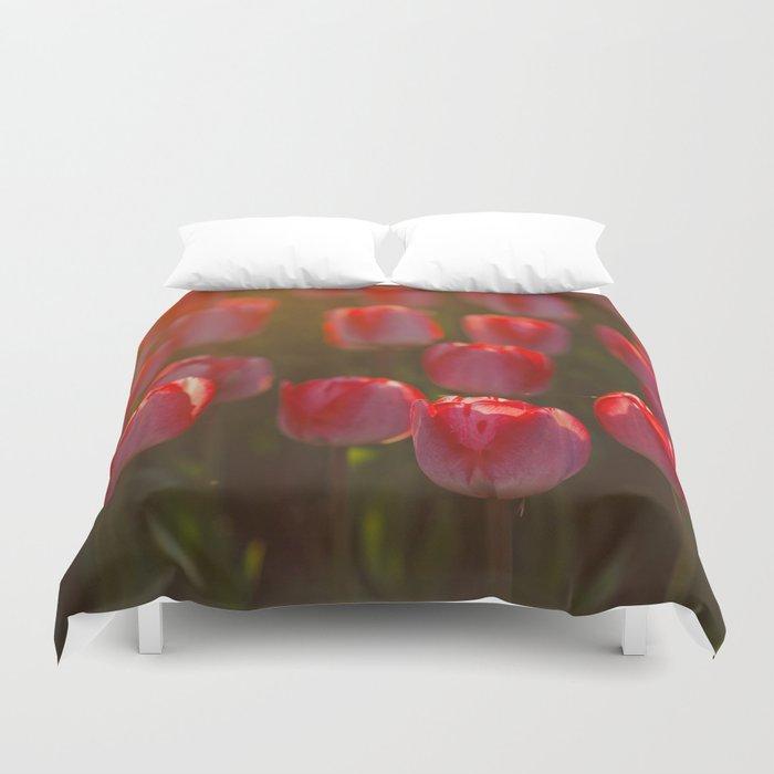Tulips spring Duvet Cover