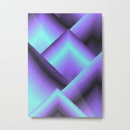 purple and blue mountains Metal Print