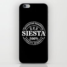 SIESTA nº 4 iPhone & iPod Skin