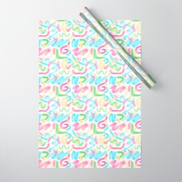 26 Graffiti Scribbles Wrapping Paper