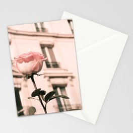 Paris in Blush Pink II Stationery Cards