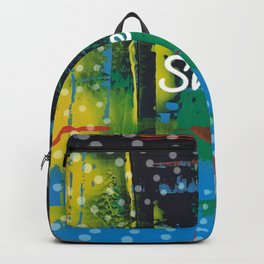 Color Chrome - sweet graphic Backpack